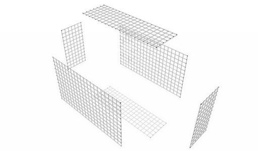 gabion assembly diagram